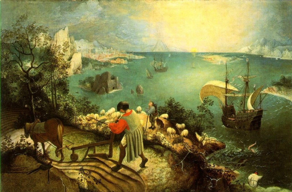 Brueghel's painting as a reminder to 'notice' what goes on in the classroom